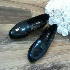 Bally  Classic Patent Leather Slip on Loafers